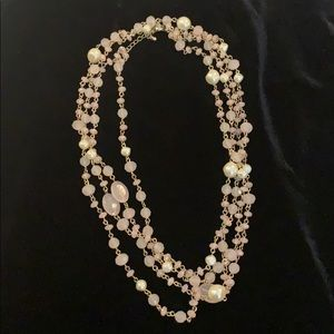 F21 Double Strand Costume Necklace